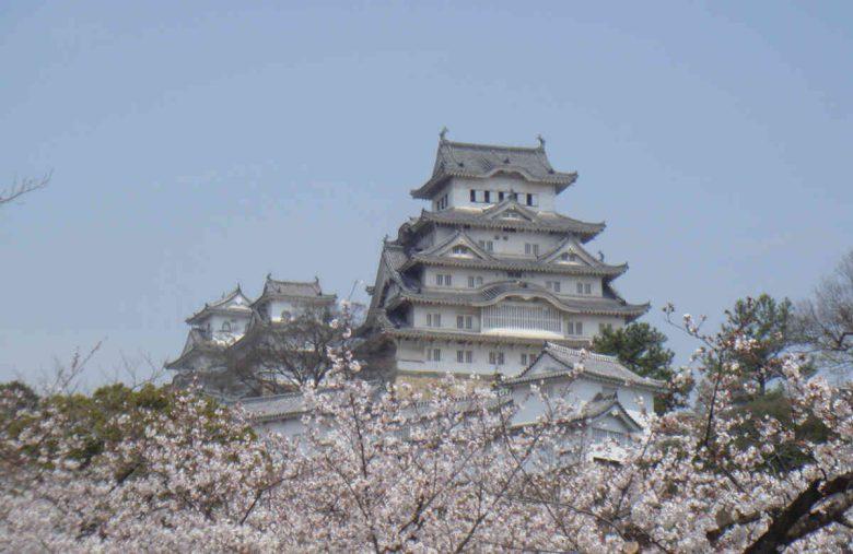 平成の大修理直前の姫路城